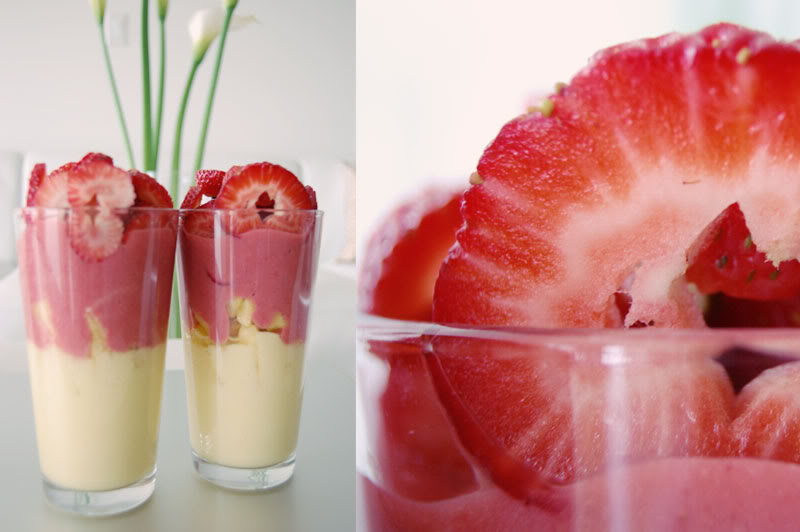 The Global Girl Raw Vegan Recipes: Pineapple Strawberry Parfait