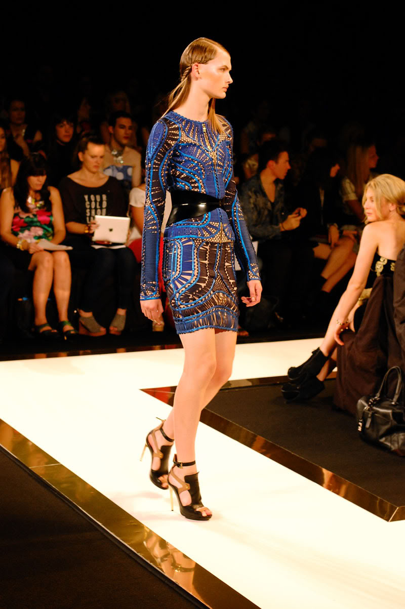 New York Fashion Week: Hervé Léger Spring 2013 Runway