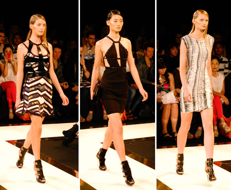 New York Fashion Week: Hervé Léger Spring 2013 Runway