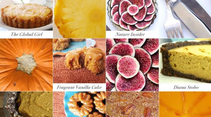 My Top 5 Thanksgiving raw vegan dessert recipes