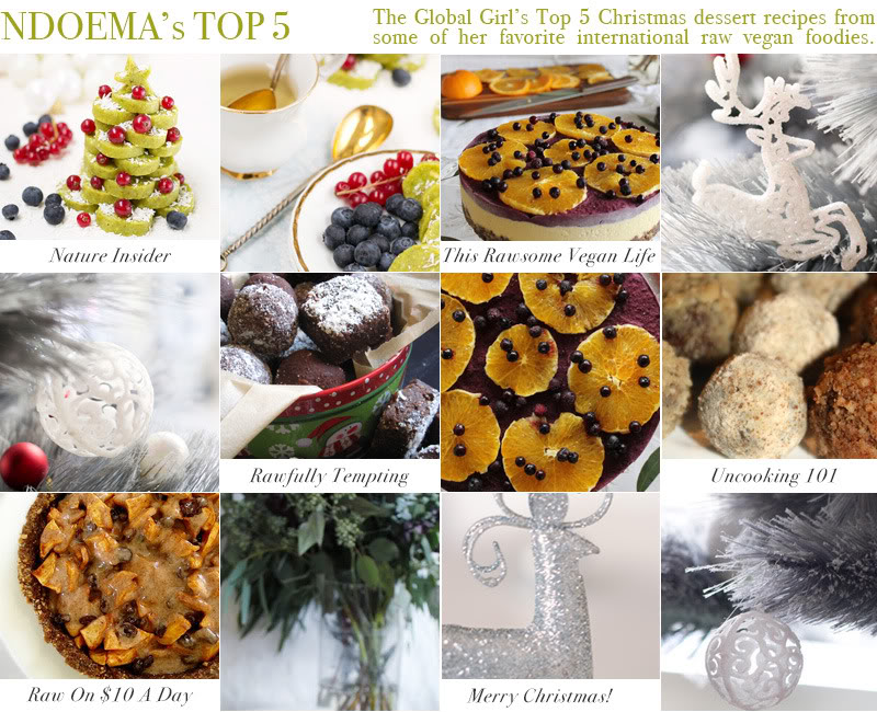Top Christmas raw vegan dessert recipes width=