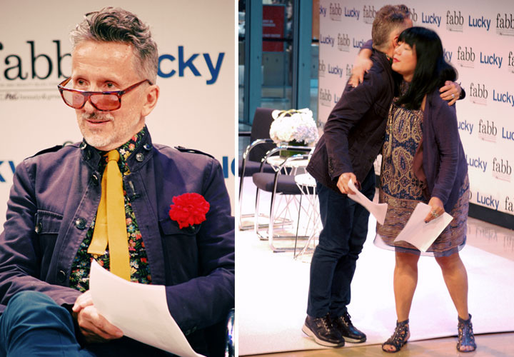 Lucky Fabb Conference: Anna Sui and Simon Doonan, Brand Ambassador, Barney's New York