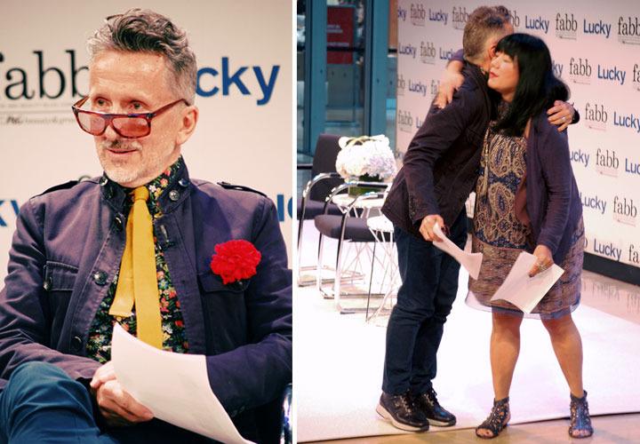 Lucky Fabb Conference: Anna Sui and Simon Doonan, Brand Ambassador, Barney's New York