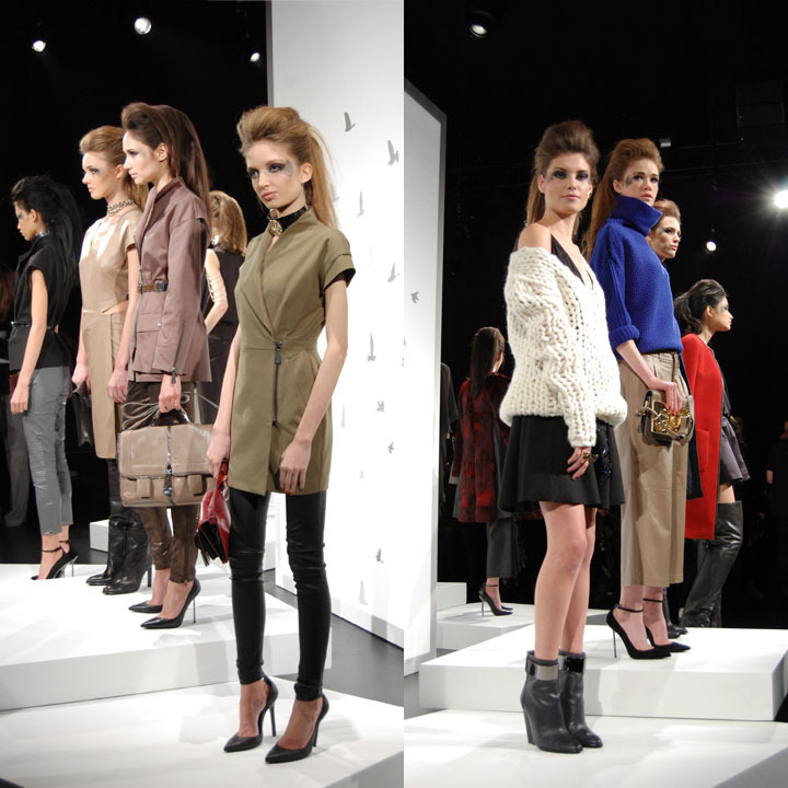 The Global Girl: Monika Chiang Fall 2013 Presentation at New York Fashion Week.
