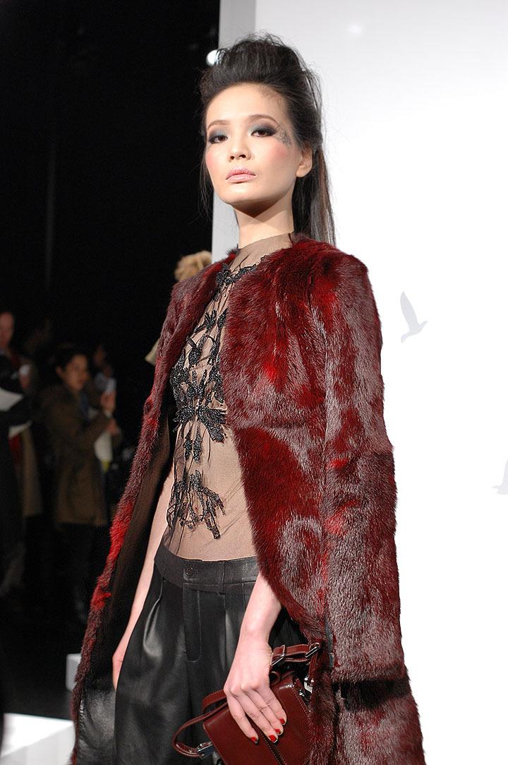 The Global Girl: Monika Chiang Fall 2013 Presentation at New York Fashion Week.