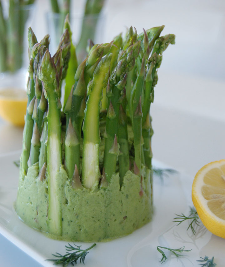 Raw Food Asparagus Recipe