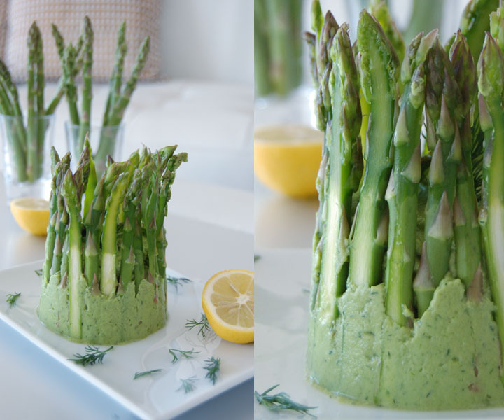 The Global Girl Raw Food Recipes: Raw Asparagus Dip with Avocado, Dill, Lemon & Garlic. This delicious raw dip is vegan, oil free and dairy free.