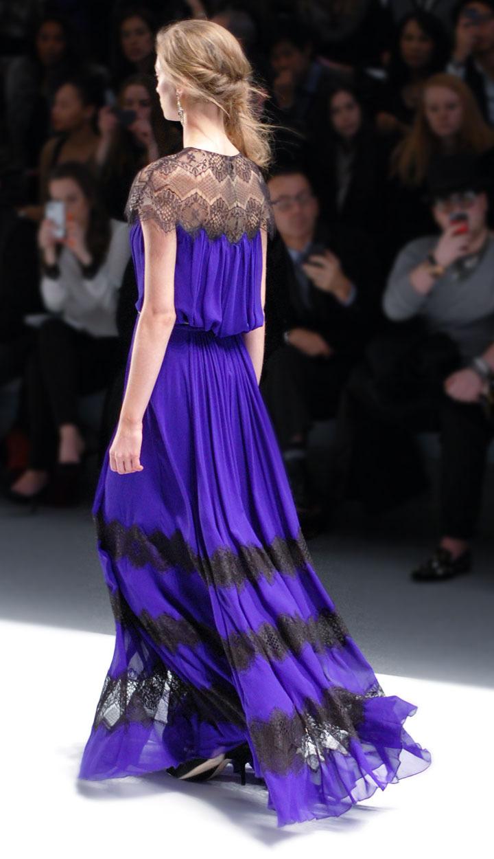 The Global Girl: Tadashi Shoji Fall 2013 Collection. New York Fashion Week runway photos.