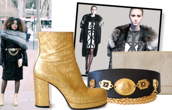 (English) Fashion Week Style: Black 'N Gold (winter edition)