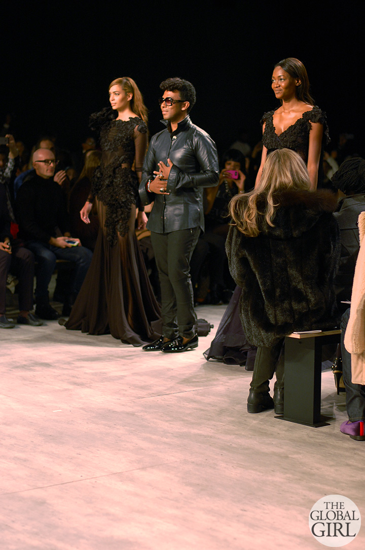 Front Row with The Global Girl at New York Fashion Week: David Tlale Fall Winter 2014 Runway Collection