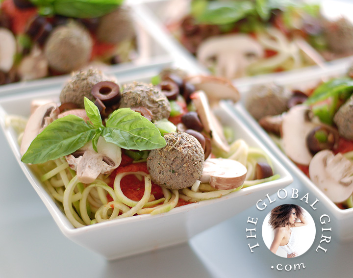 raw-zucchini-spaghetti-italian-pasta-recipe-gluten-wheat-dairy-free-mushroom-meat-balls-vegan-the-global-girl-theglobalgirl