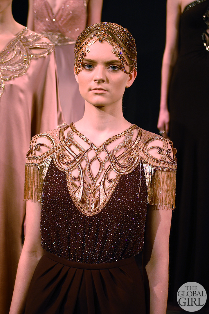 Front Row with The Global Girl: Alon Livné Fall 2014 Collection - New York Fashion Week.