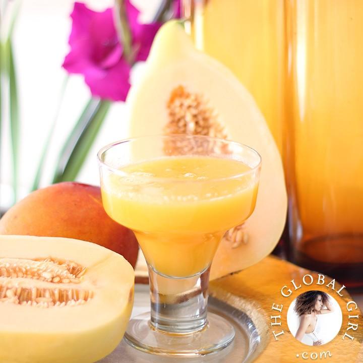 Mango & Crenshaw Melon Juice