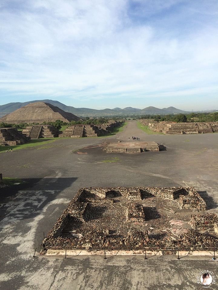Pyramid of the Sun, Teotihuacan - Mexico.