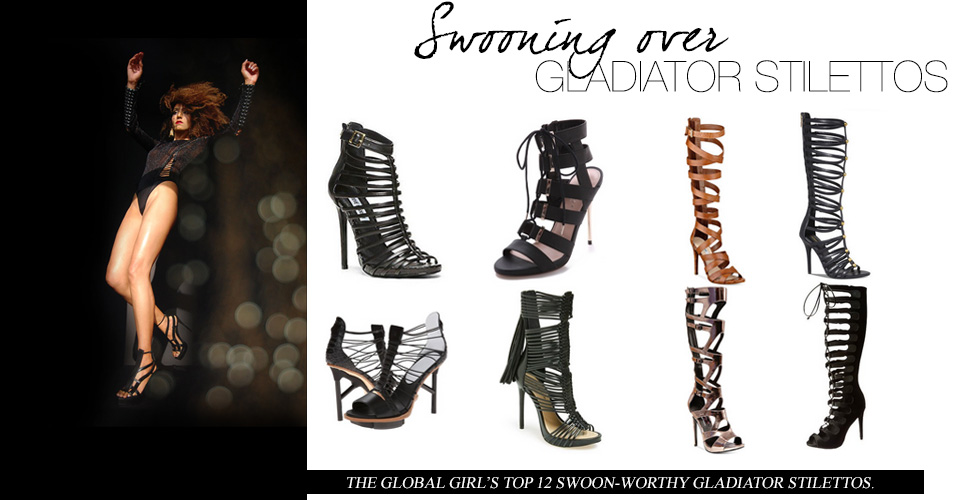 Swooning Over: Gladiator Stilettos