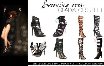 (English) Swooning Over: Gladiator Stilettos