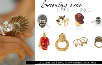 (English) Swooning Over: Skull Rings