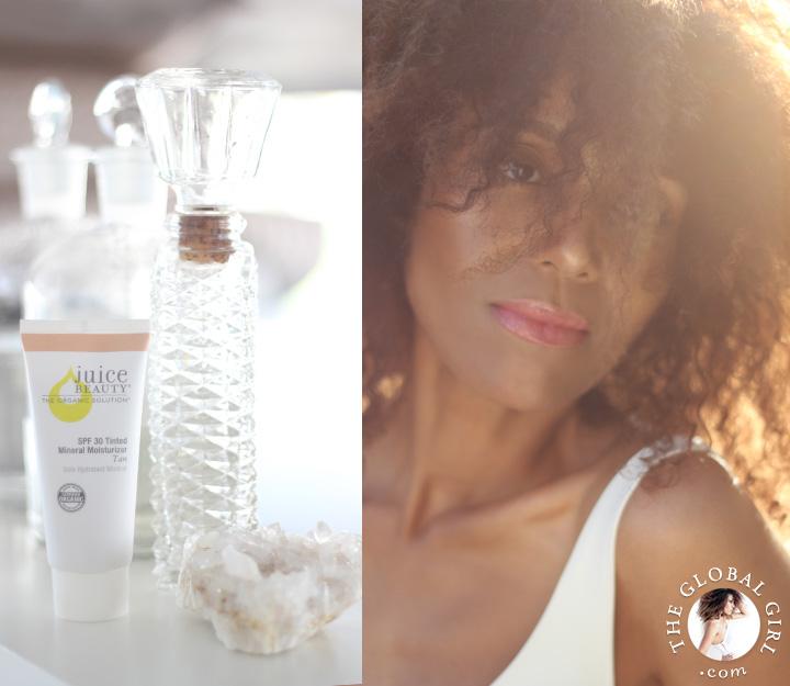 Ndoema's Beauty Pick of the Week: Juice Beauty Tinted Moisturizer. A chemical free, juice-based and 100% organic sunscreen.