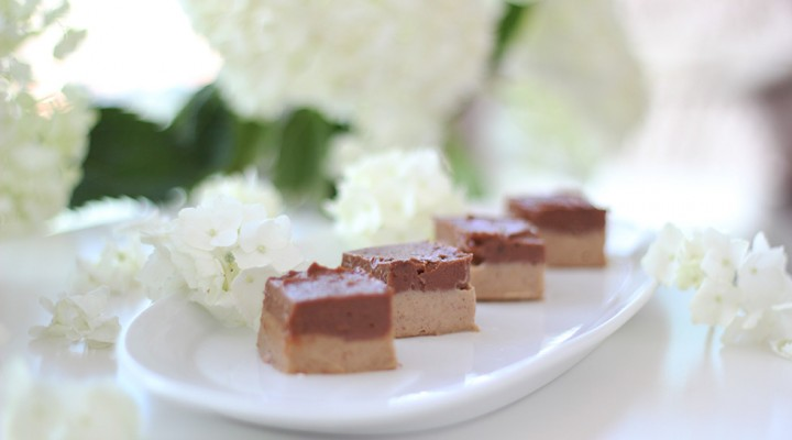 Chocolate & Caramel Durian Fudge