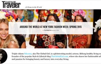 (English) Condé Nast Traveler X The Global Girl