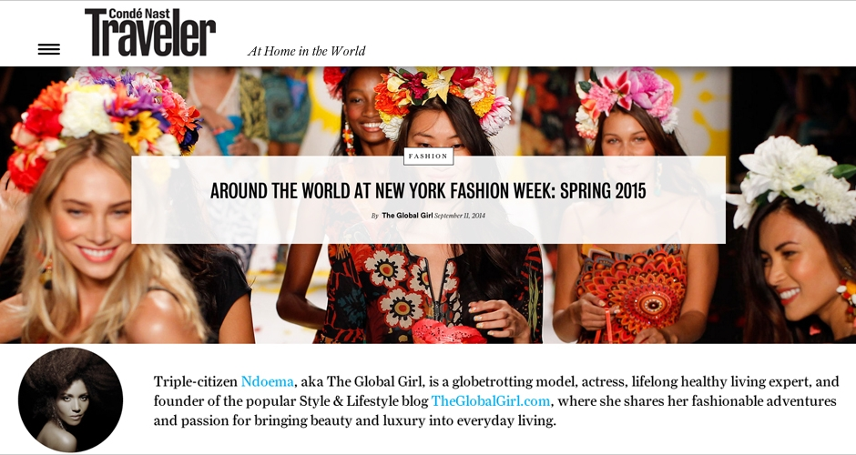 (English) Condé Nast Traveler X The Global Girl