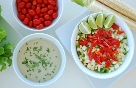 (English) Crunchy Corn Salad with Creamy Dill Dressing