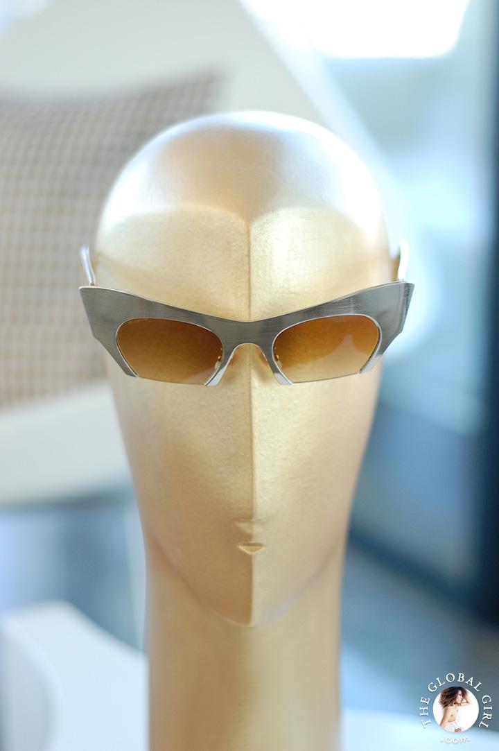 Miu Miu Rasoir Cat Eye Sunglasses
