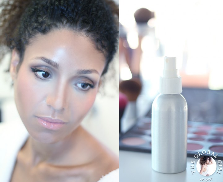 The Global Girl Beauty: Ndoema's secret DIY natural makeup setting spray.