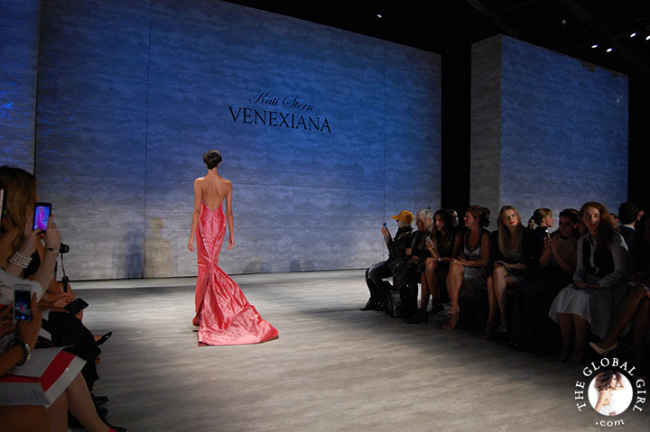 New York Fashion Week Spring Summer 2015: Front Row with The Global Girl at the Venexiana runway collection presentation.