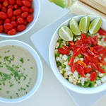 Crunchy Corn Salad with Creamy Dill Dressing