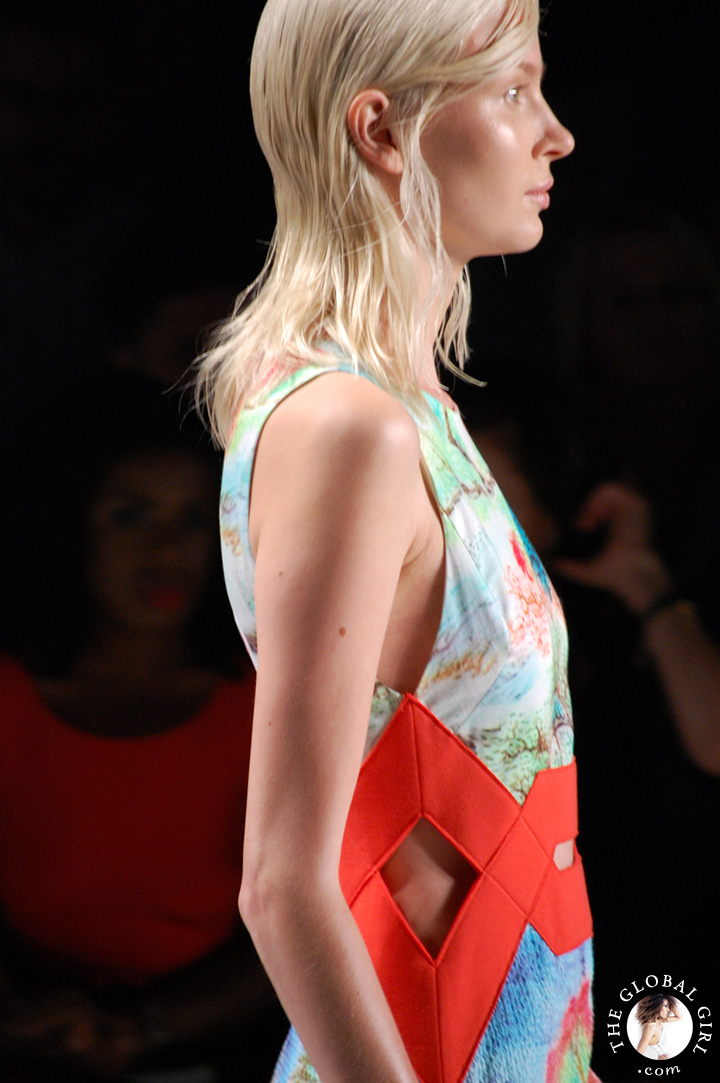 New York Fashion Week: Vivienne Tam Spring Summer 2015 runway collection.