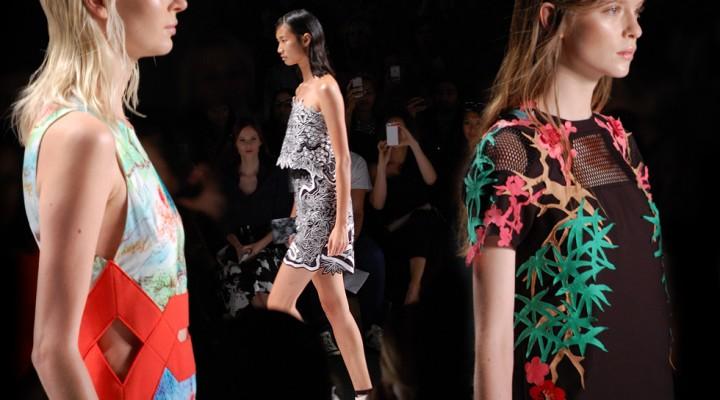 New York Fashion Week: Vivienne Tam Spring Summer 2015 runway collection