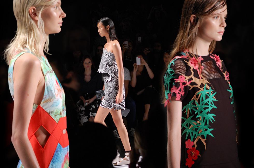 New York Fashion Week: Vivienne Tam Spring Summer 2015 runway collection