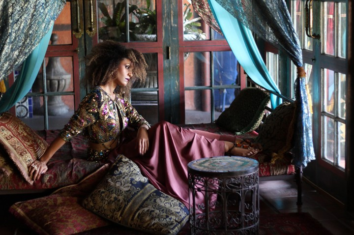 Ndoema theglobalgirl the global girl morocco moroccan for Bohemian style daybed