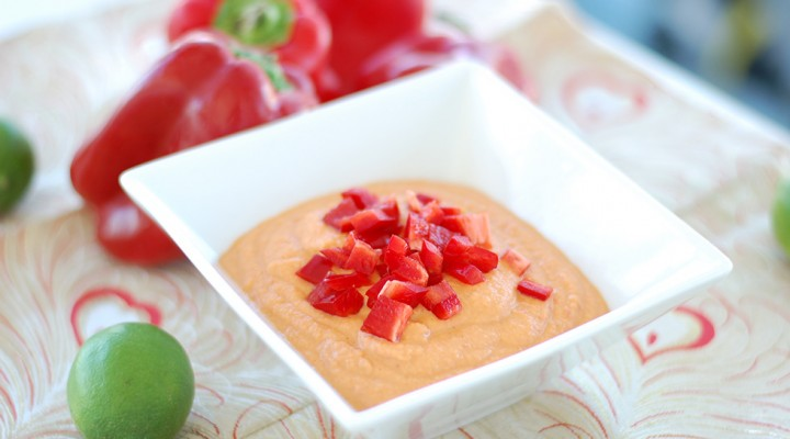 Hot 'N Spicy Raw Vegan Hummus