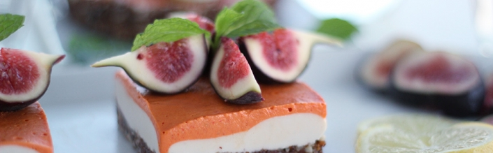Raw Vegan Lemon Goji Berry Cheesecake