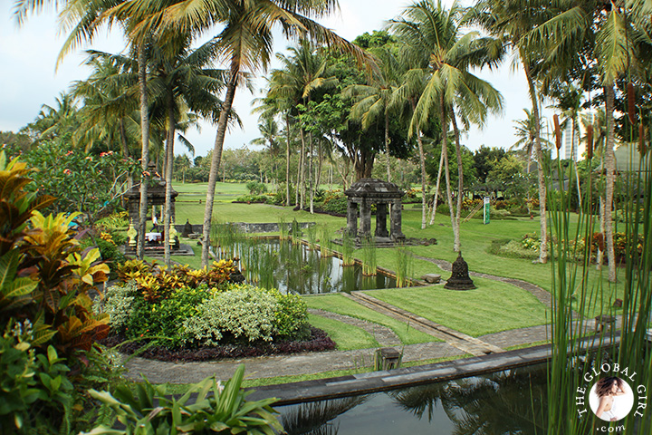 The Global Girl Travels: The Hyatt Regency Yogyakarta in Indonesia. A green oasis in the island of Java.