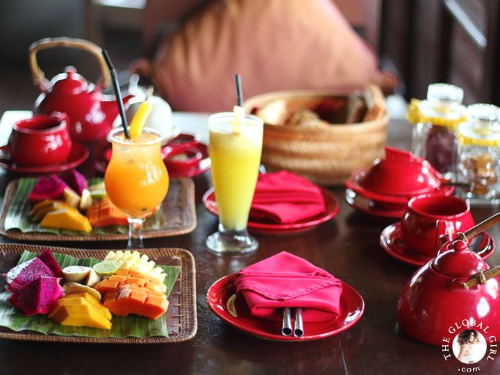The Global Girl Travels: Magical Bali Getaway - Breakfast time!