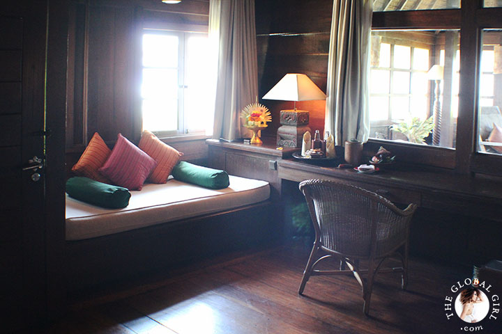 The Global Girl Travels: Magical Bali Getaway - Exotic wood suite.