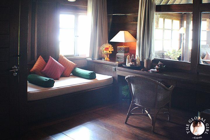 The Global Girl Travels: Magical Bali Getaway - Exotic wood suite.
