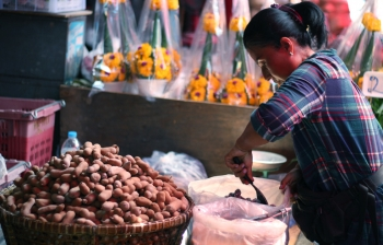 (English) Veggie Shopping at Khlong Toey Market in Bangkok