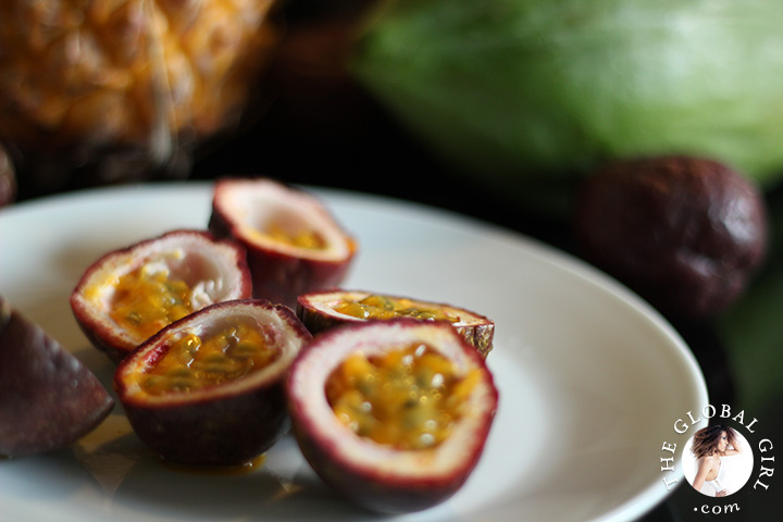A Peek into The Global Girl Thai Kitchen: vitamin-c loaded passion fruits.