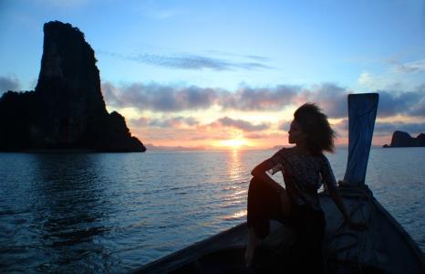 Sunrise on the Andaman Sea