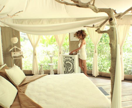 Eco-Chic Glamping in Ubud