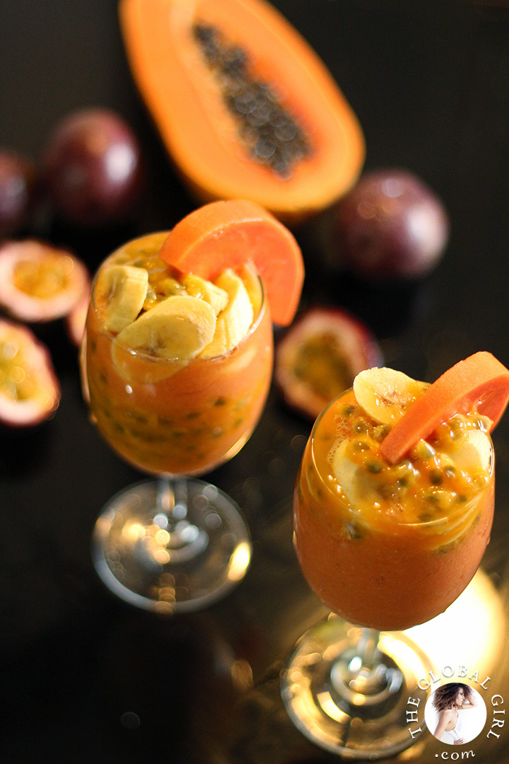 The Global Girl Raw Food Recipe: The Ultimate Glowy Skin Smoothie.