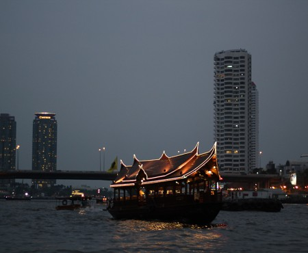 Up Chao Phraya River, Bangkok