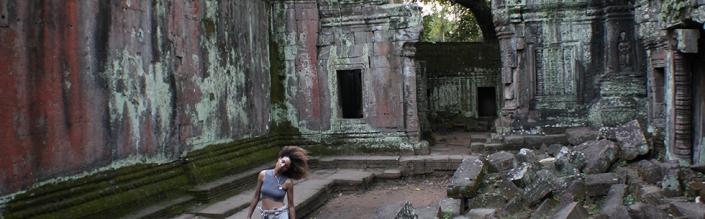 Lost in The  Jungle Ruins of Ta Prohm