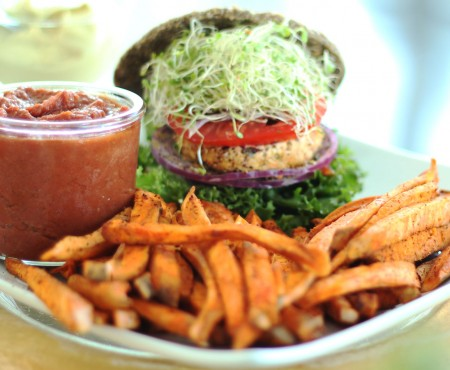 Raw Vegan Burger Buns
