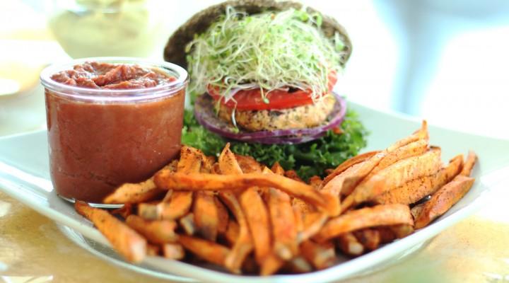Raw Vegan Burger Buns