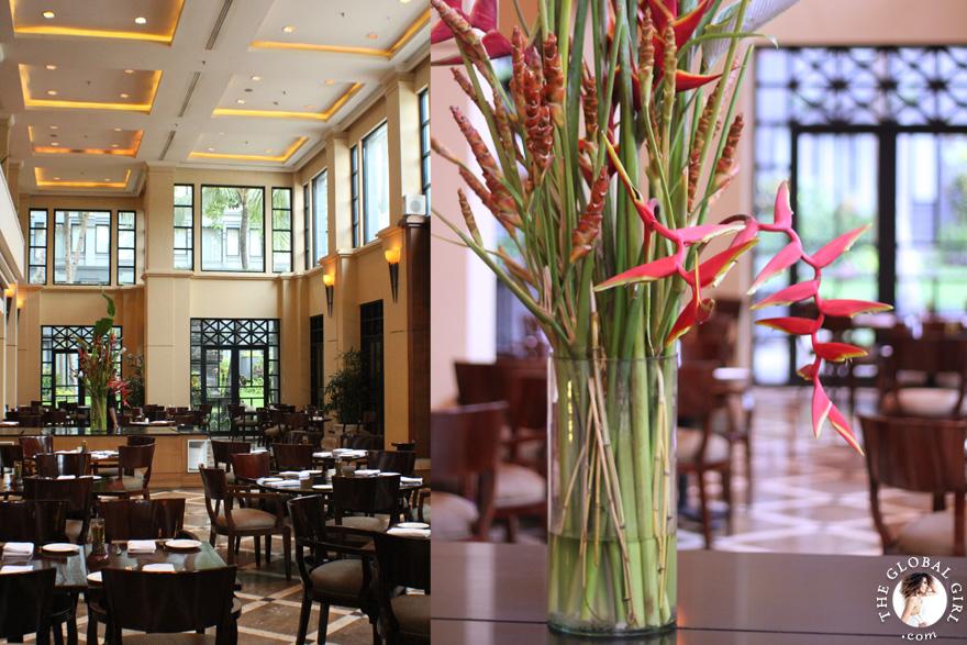 The Global Girl Travels: Kemangi Bistro, the Hyatt Regency Yogyakarta's popular restaurant in the island of Java, Indonesia.